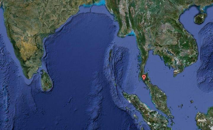 Lanta dans le sud de la Thaïlande, en Asie du Sud Est