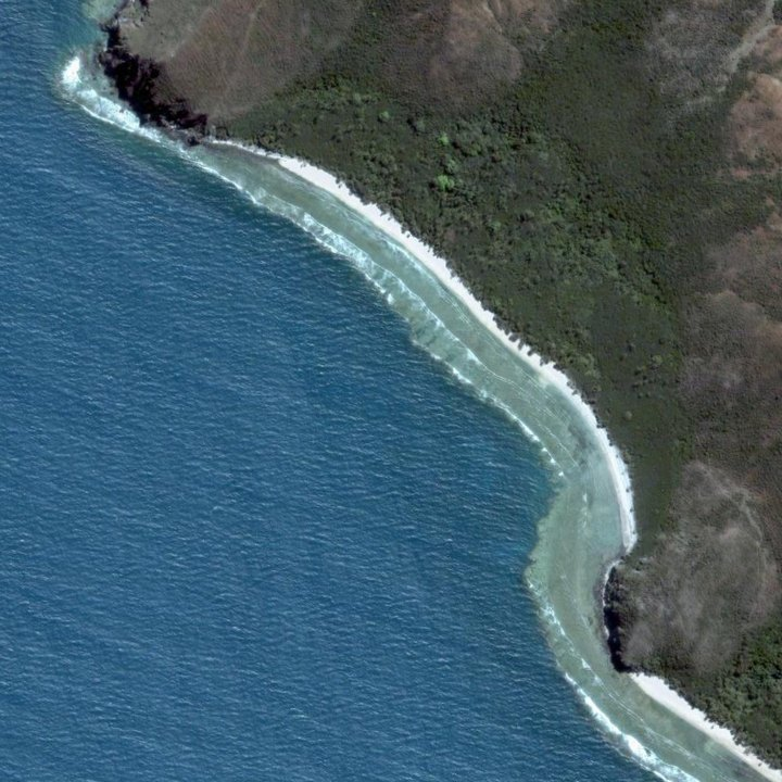 Baie d'Ohop, province Nord, Nouvelle Calédonie