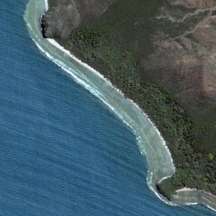 Baie de la province Nord en Nouvelle Caledonie