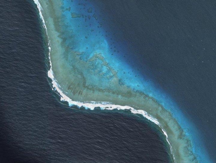 Barrière de corail de Nouvelle Calédonie