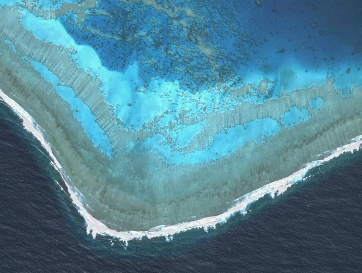 Barrière de corail calédonienne inscrite sur la liste du Patrimoine mondial de L'UNESCO