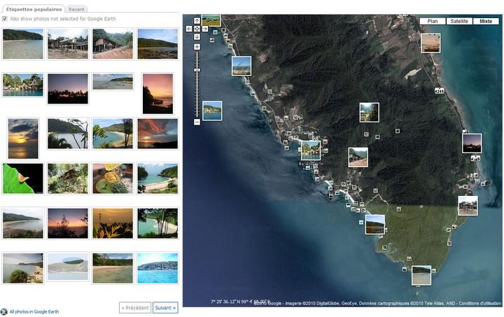 Carte et photos de l'archipel de Lanta en Thaïlande