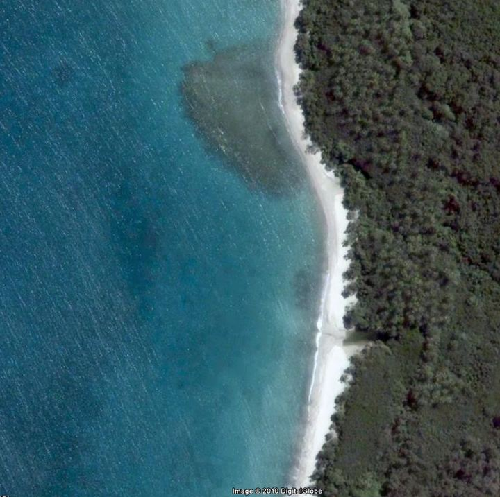 Plage de la Baie d'Ohop / Baie du Croissant - Google Maps